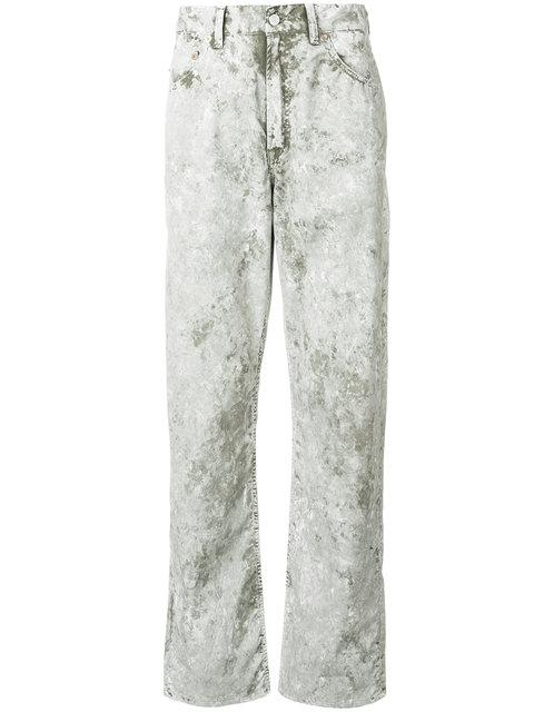 Our Legacy Faded Regular Trousers - Green