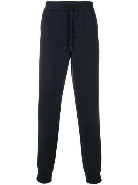 Ermenegildo Zegna Relaxed Sweatpants In Blue