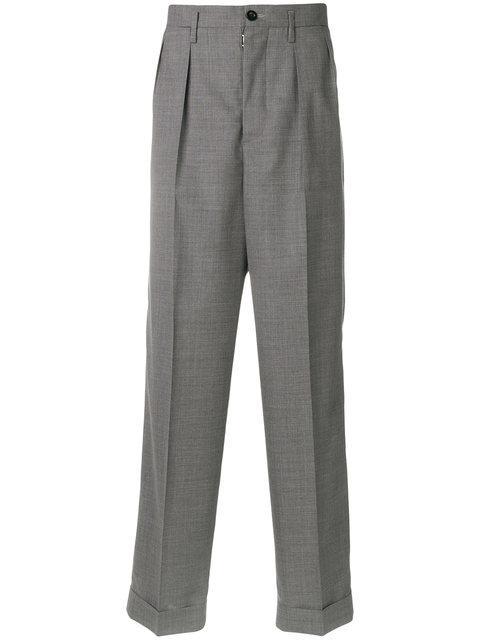 Maison Margiela Classic Tailored Trousers - Grey