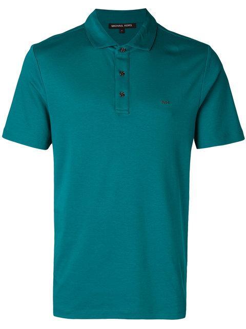 Michael Michael Kors Logo-embroidered Polo Shirt