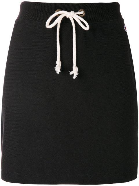Champion Drawstring Waist Mini Skirt