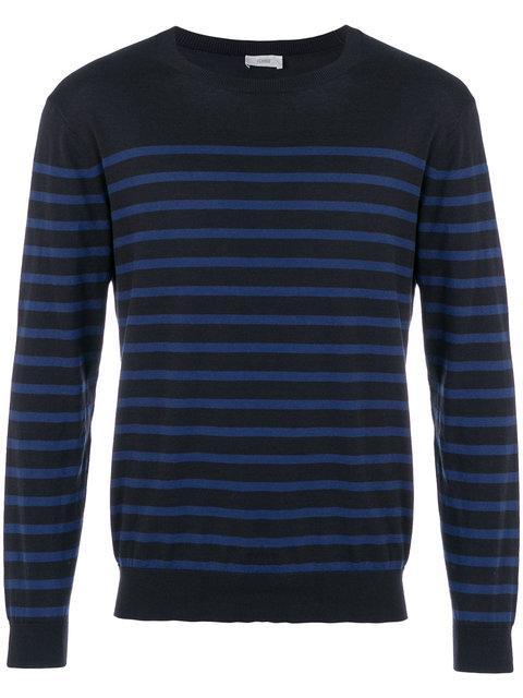 Closed Striped Pullover In Blue