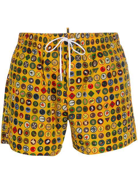 Dsquared2 Heritage Swim Shorts