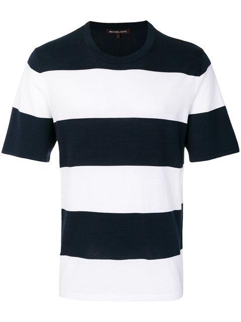 Michael Michael Kors Striped Crew-neck T-shirt