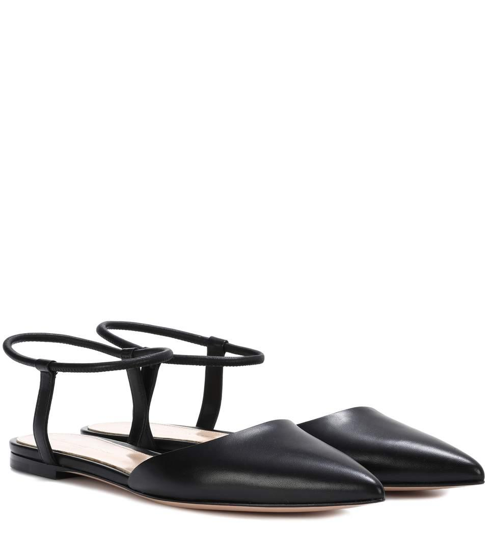 Gianvito Rossi Hedy Ankle-strap Sandals In Black