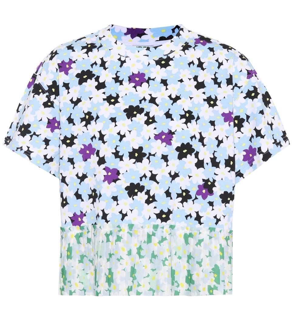 dc279f45 Kenzo Mixed Floral Cotton T-Shirt In Multicolour | ModeSens
