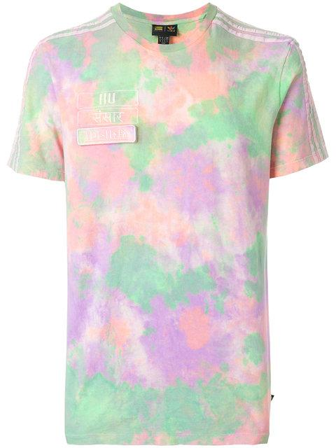 Adidas Originals Adidas By Pharrell Williams X Pharrell Williams Hu Holi T-shirt In Multicolour