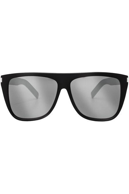 Saint Laurent Square Sunglasses In Black