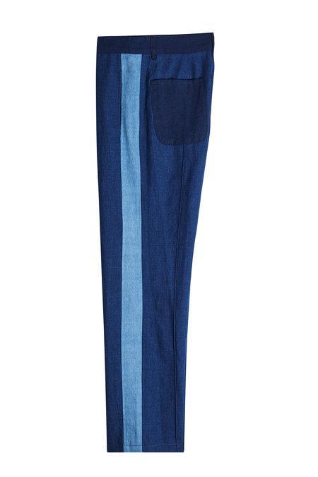 A.p.c. Cooper Pants In Blue