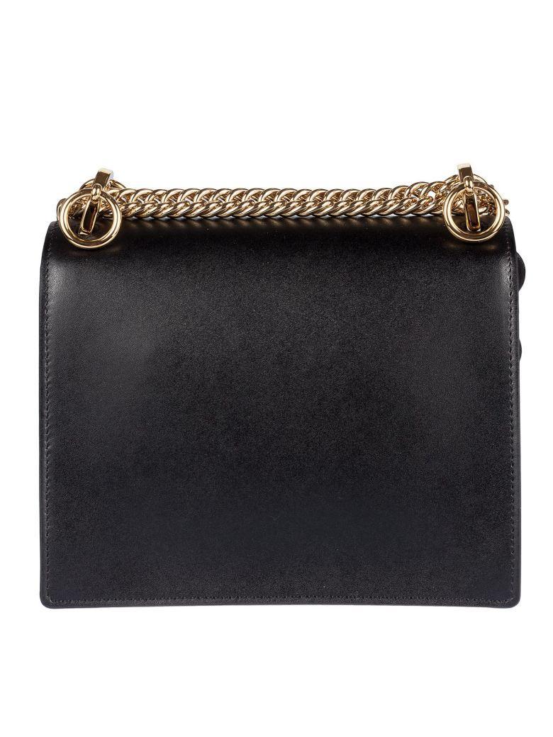 Fendi Kan Shoulder Bag In Nero-oro Soft