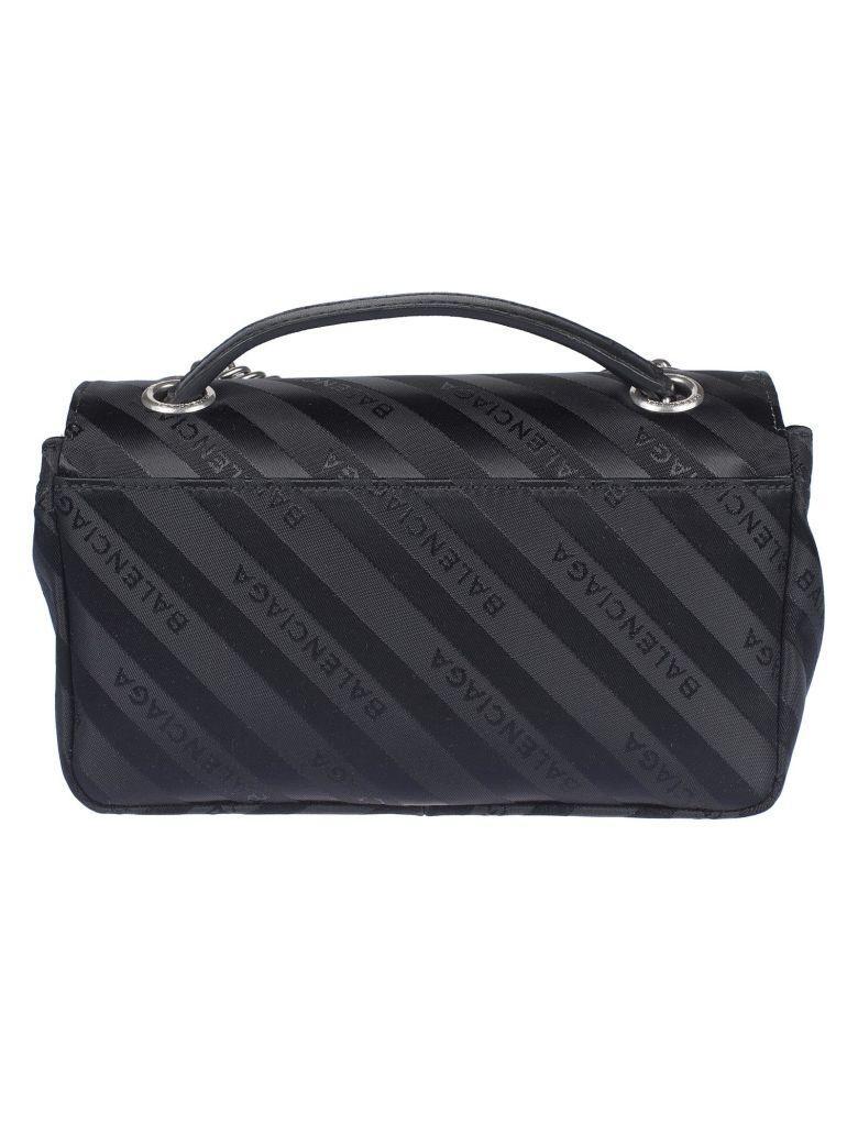Balenciaga Bb Shoulder Bag In Black