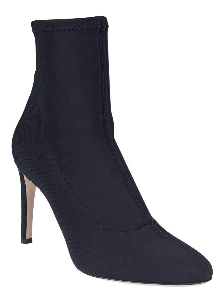 Giuseppe Zanotti Celeste Ankle Boots In Nero