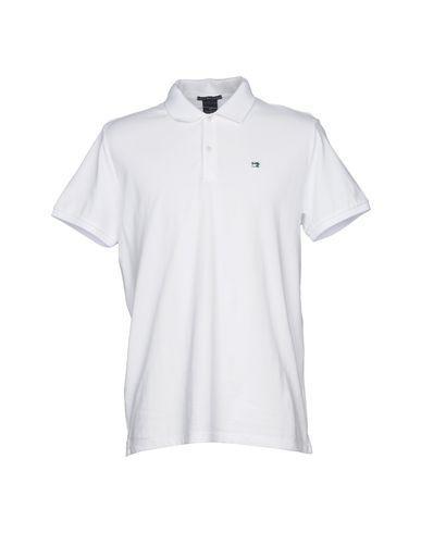 Scotch & Soda Polo Shirt In White