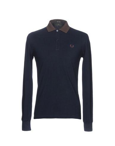 Fred Perry Polo Shirts In Dark Blue