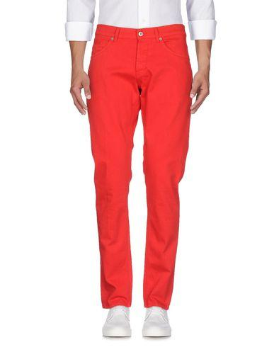 Dondup Denim Pants In Red