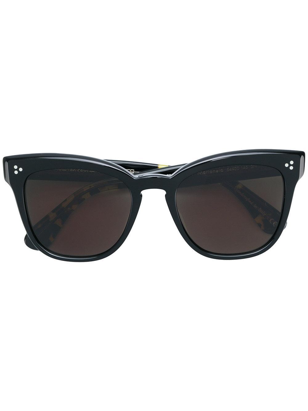 Oliver Peoples Cat Eye Sunglasses - Black