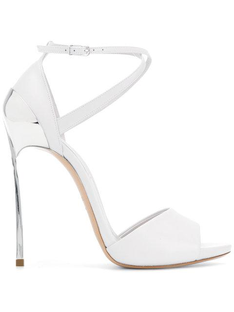 Casadei Metal-plated Sandals