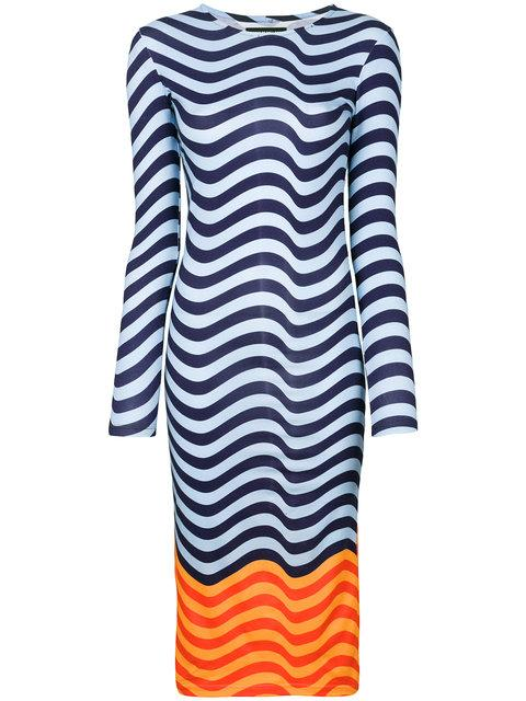 House Of Holland Fitted Hypnotic Dress