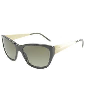 Burberry Cat-eye Plastic Sunglasses In Dark Green And Gold