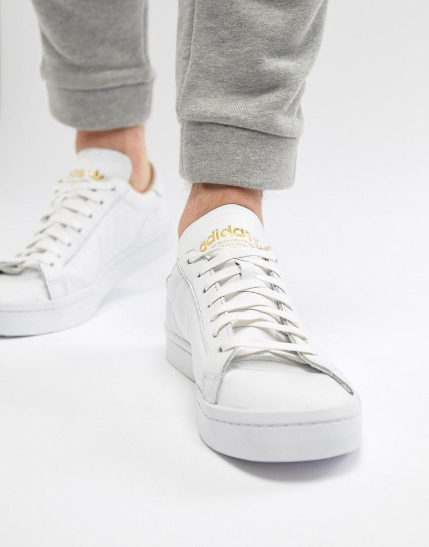 Court Vantage Sneakers In White Cq2561 White
