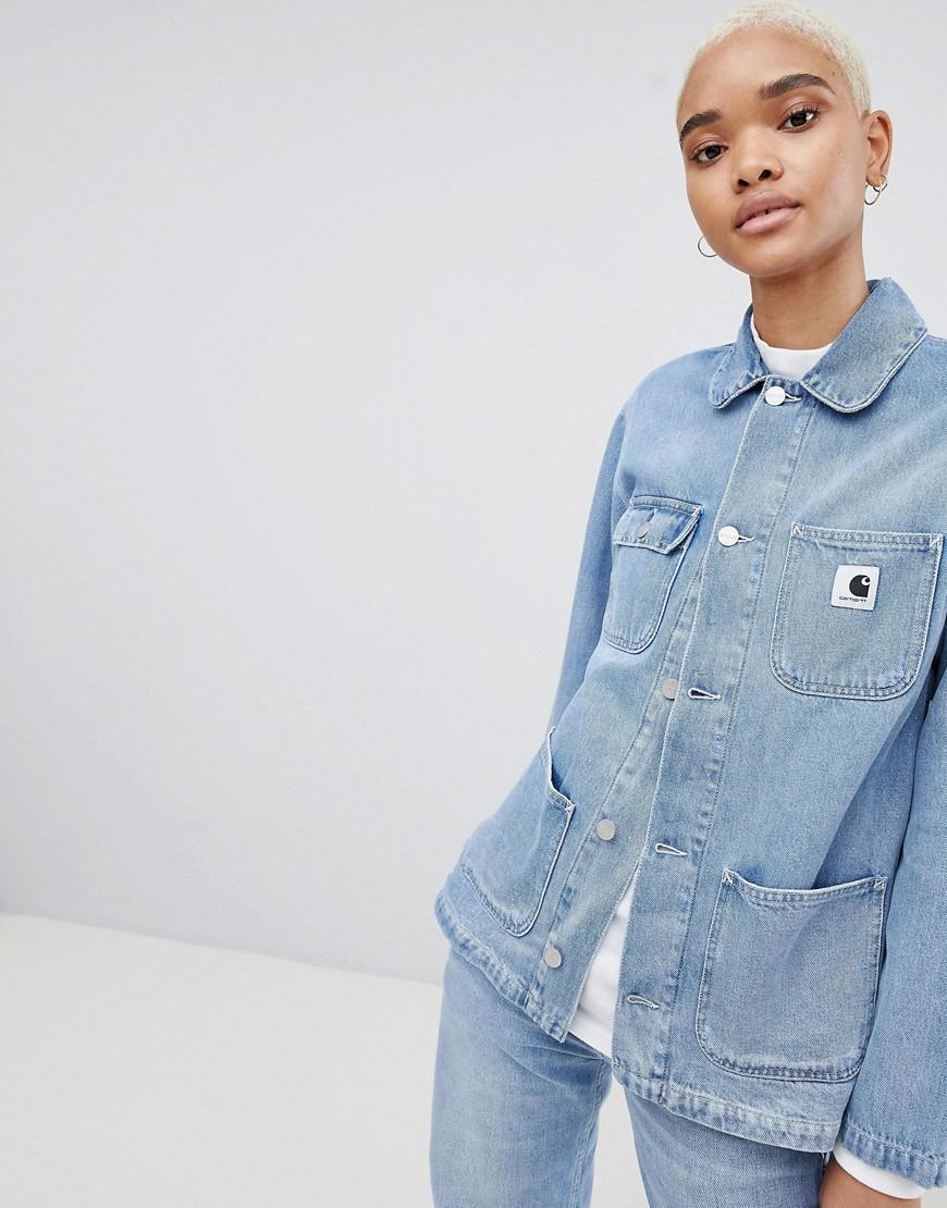 Carhartt Wip Denim Jacket - Blue