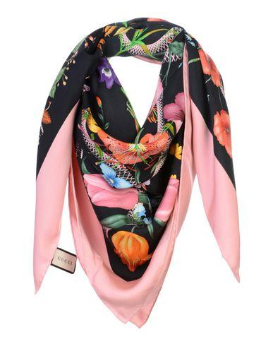 Gucci Square Scarf In Pink