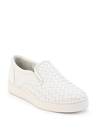 Bottega Veneta Dodger 2 Slip-On Trainers In White