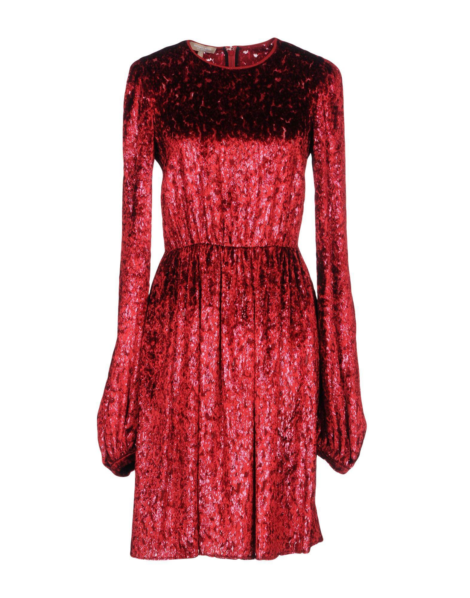 Michael Kors Knee-Length Dress In Red