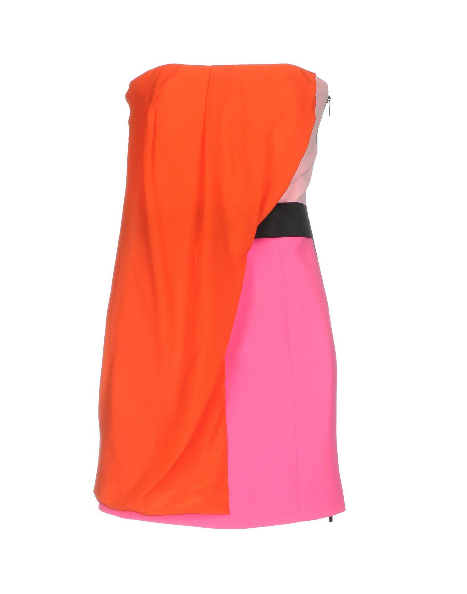 Barbara Bui Short Dress In Coral