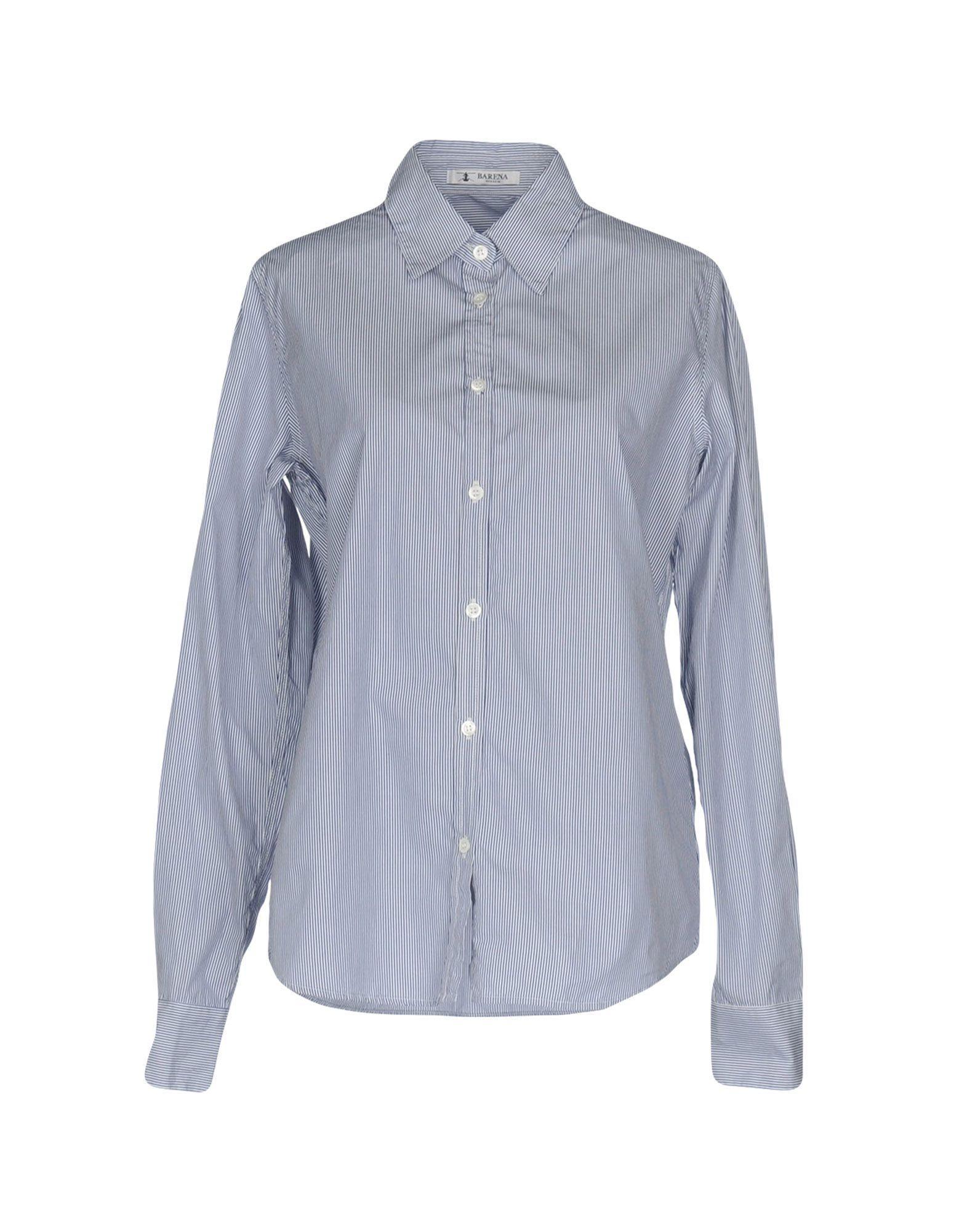 Barena Venezia Striped Shirt In Dark Blue