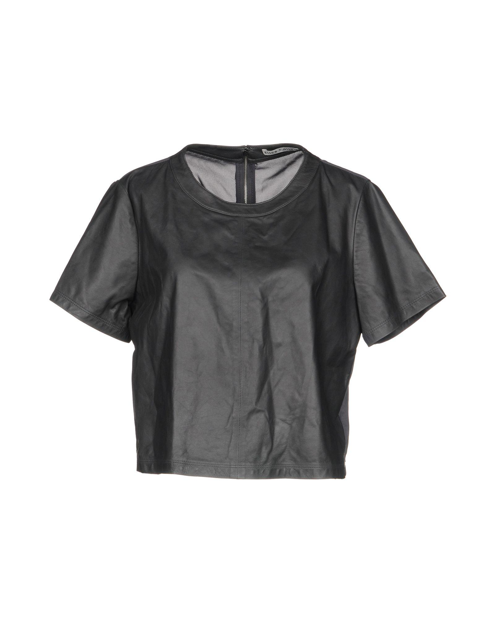 Alice And Olivia Blouse In Lead