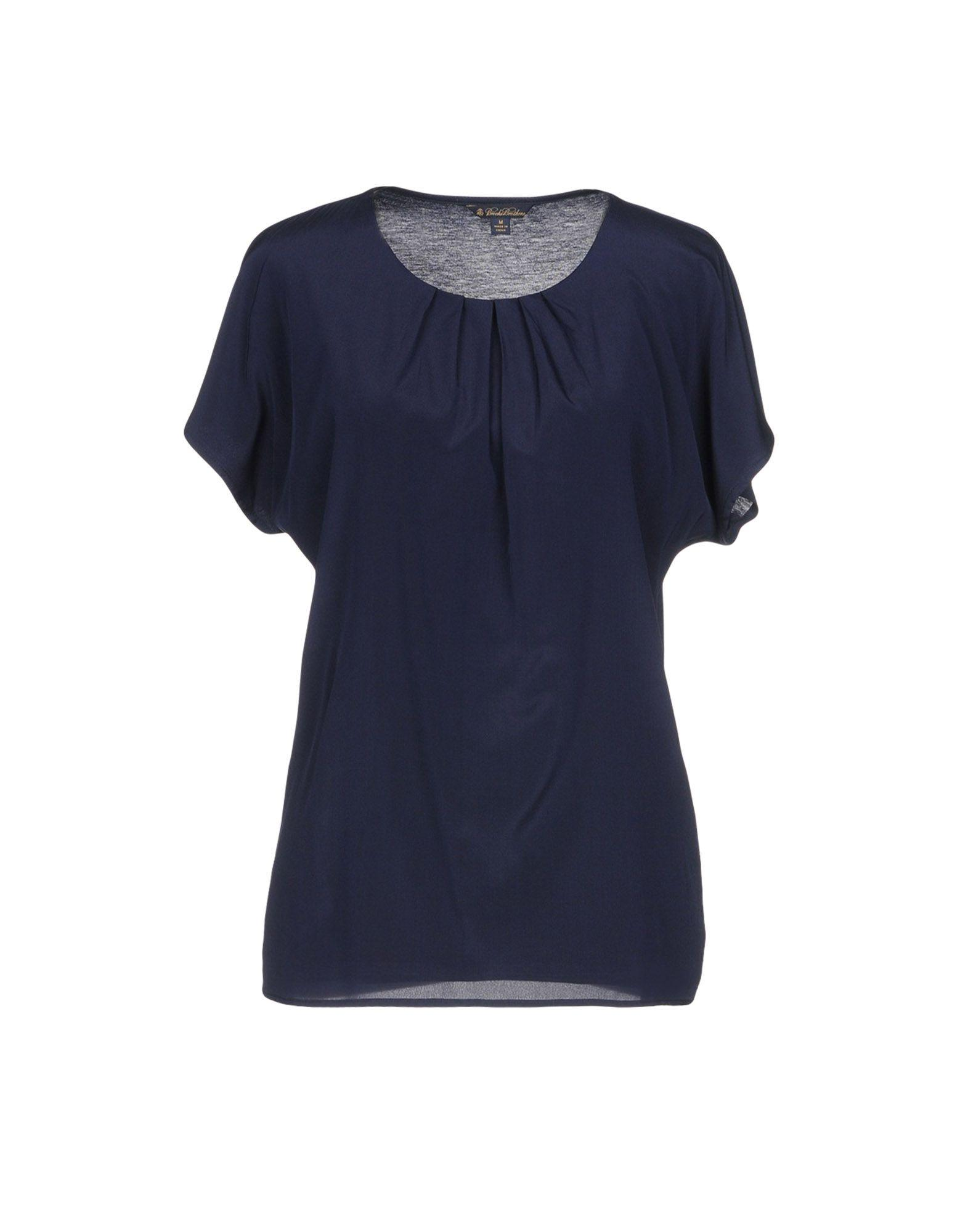 Brooks Brothers Blouse In Dark Blue
