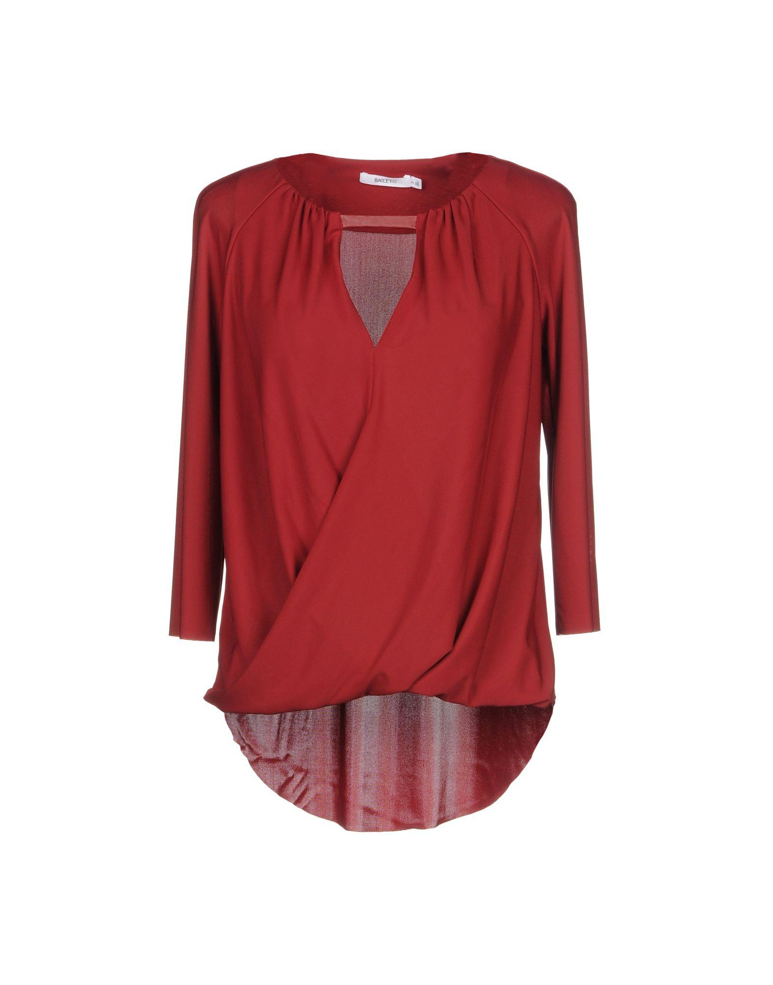 Bailey44 Blouse In Maroon