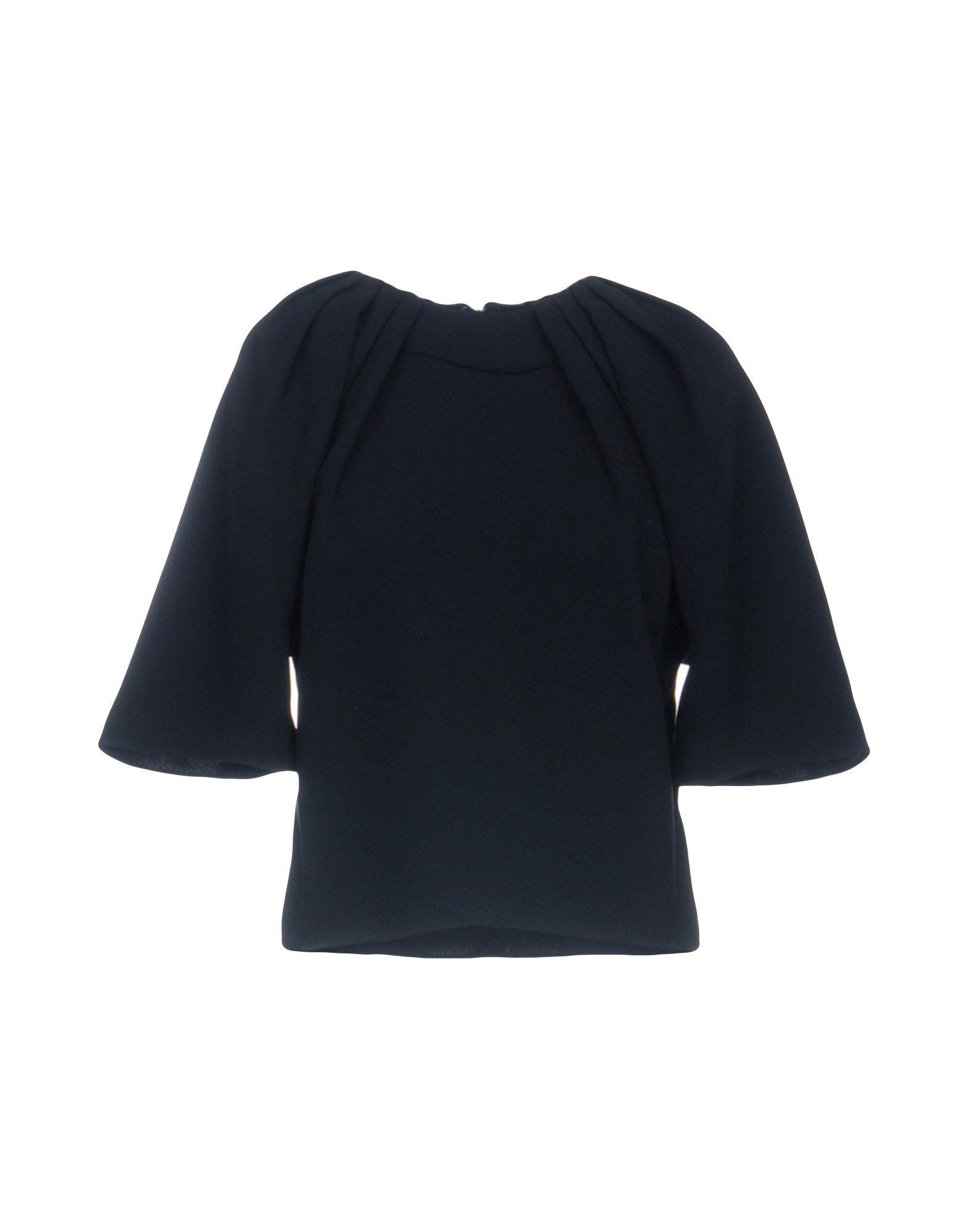 Balenciaga Blouses In Black