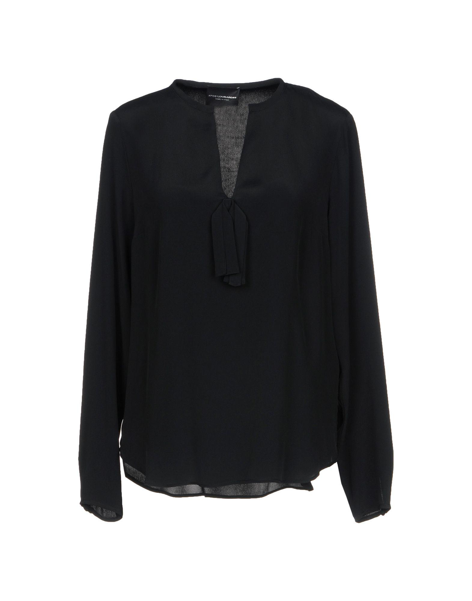 Atos Lombardini Blouse In Black