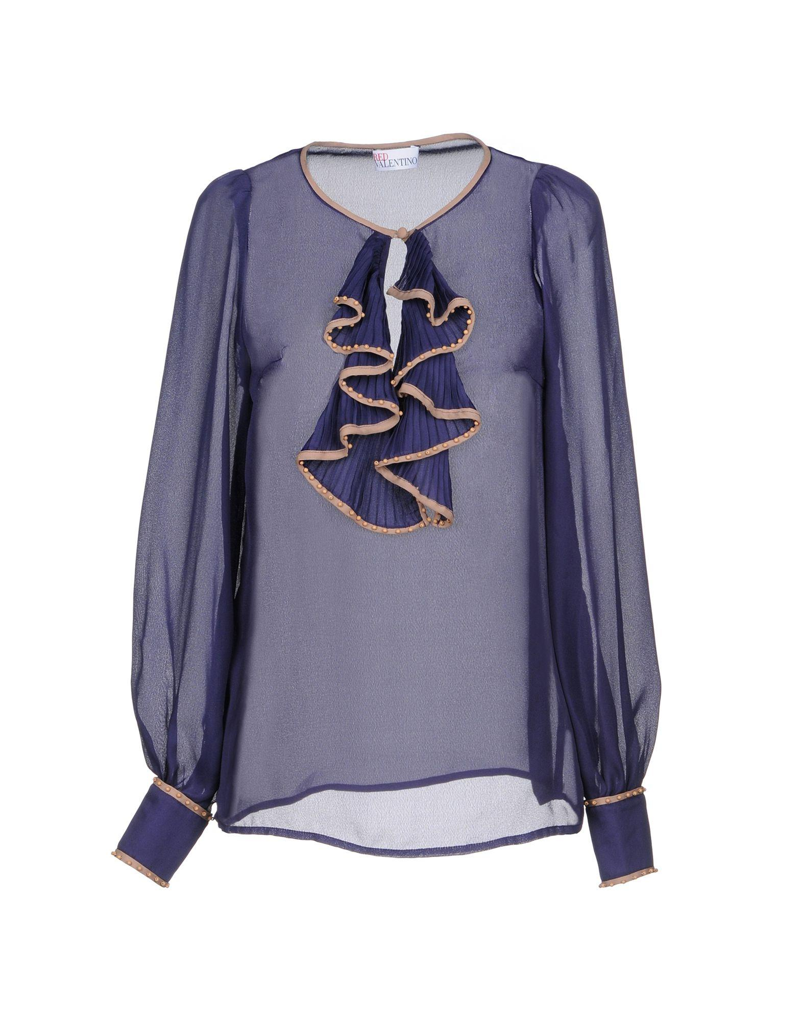 Red Valentino Blouses In Purple