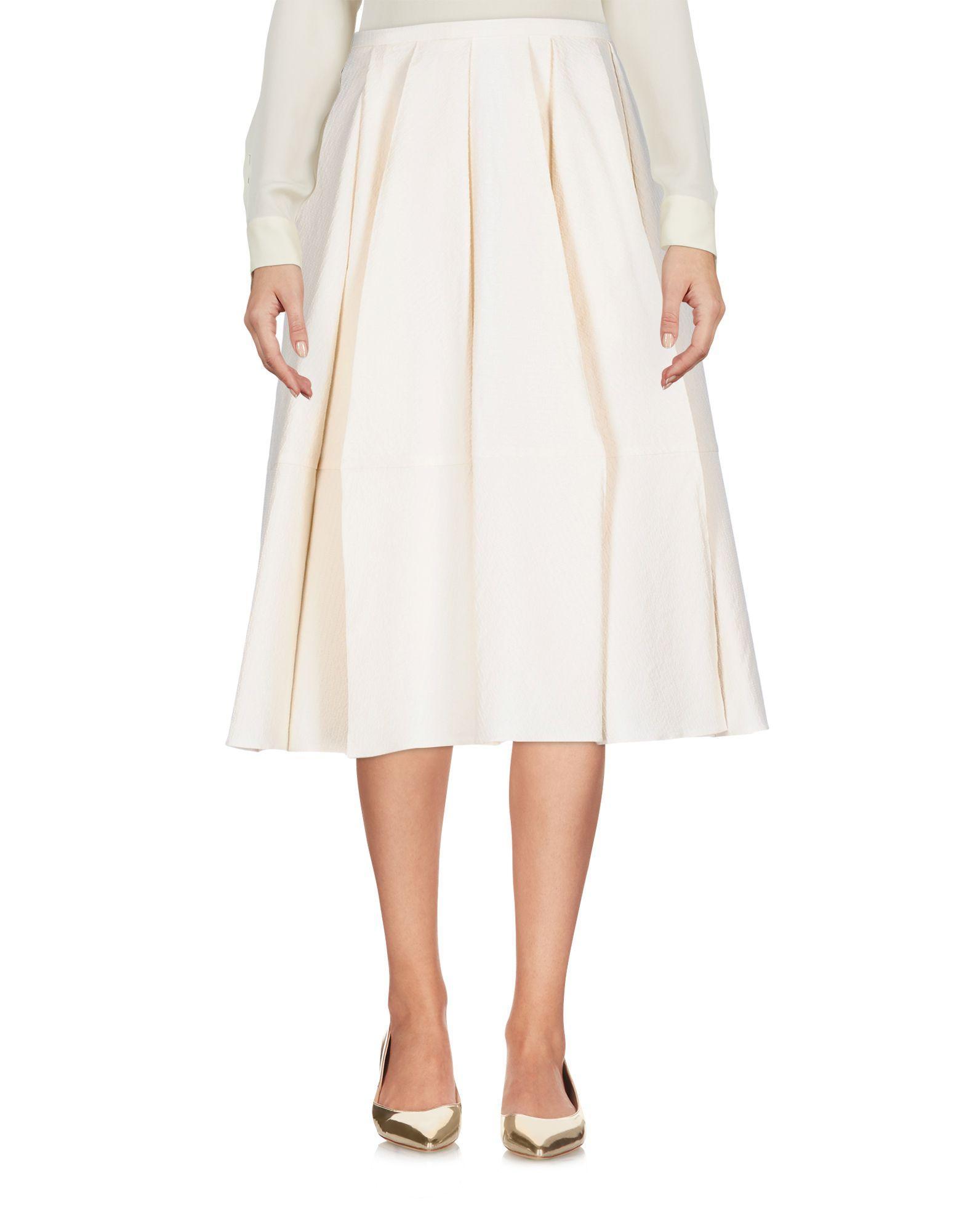 Veronique Leroy 3/4 Length Skirts In Beige