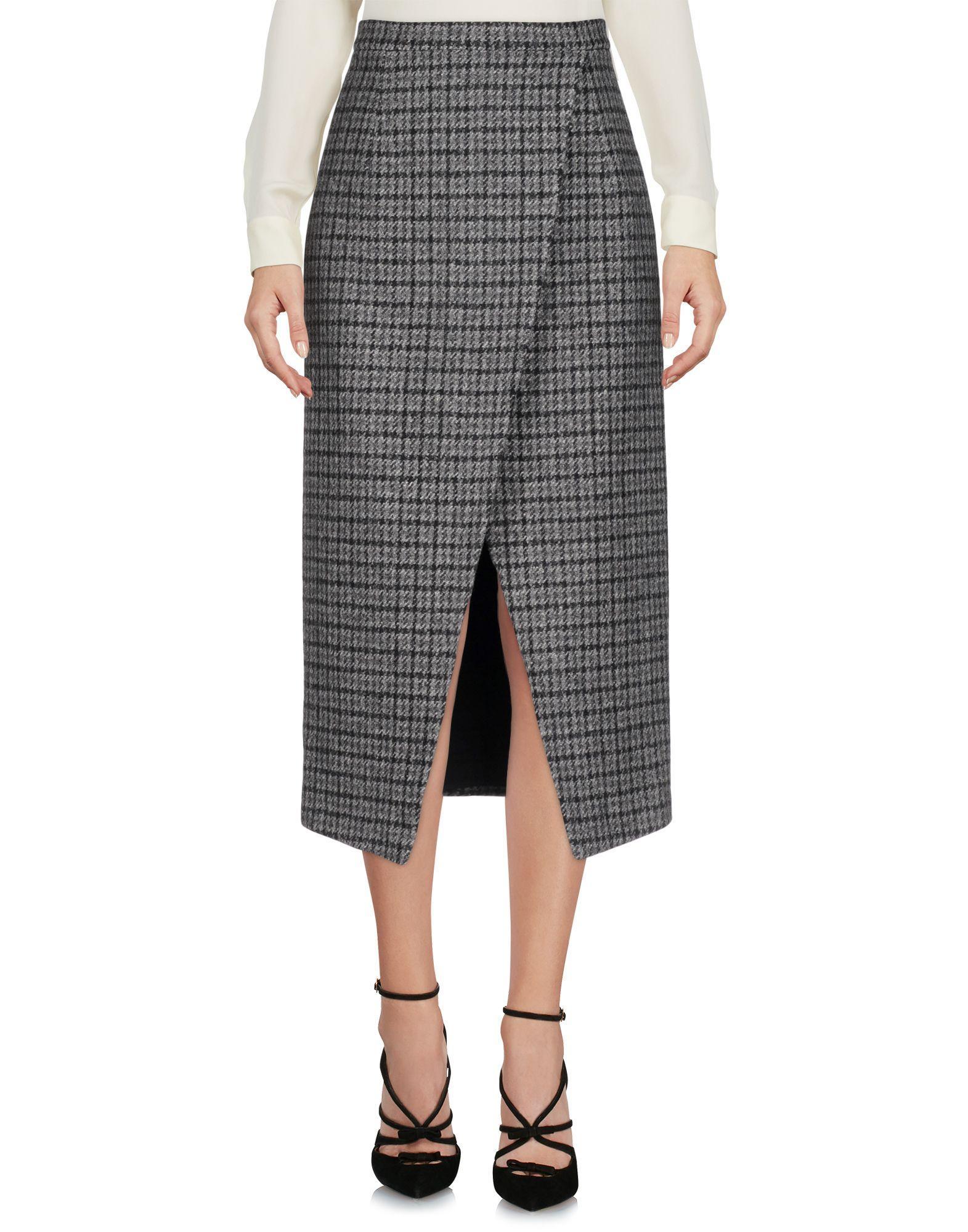 Michael Kors 3/4 Length Skirts In Grey
