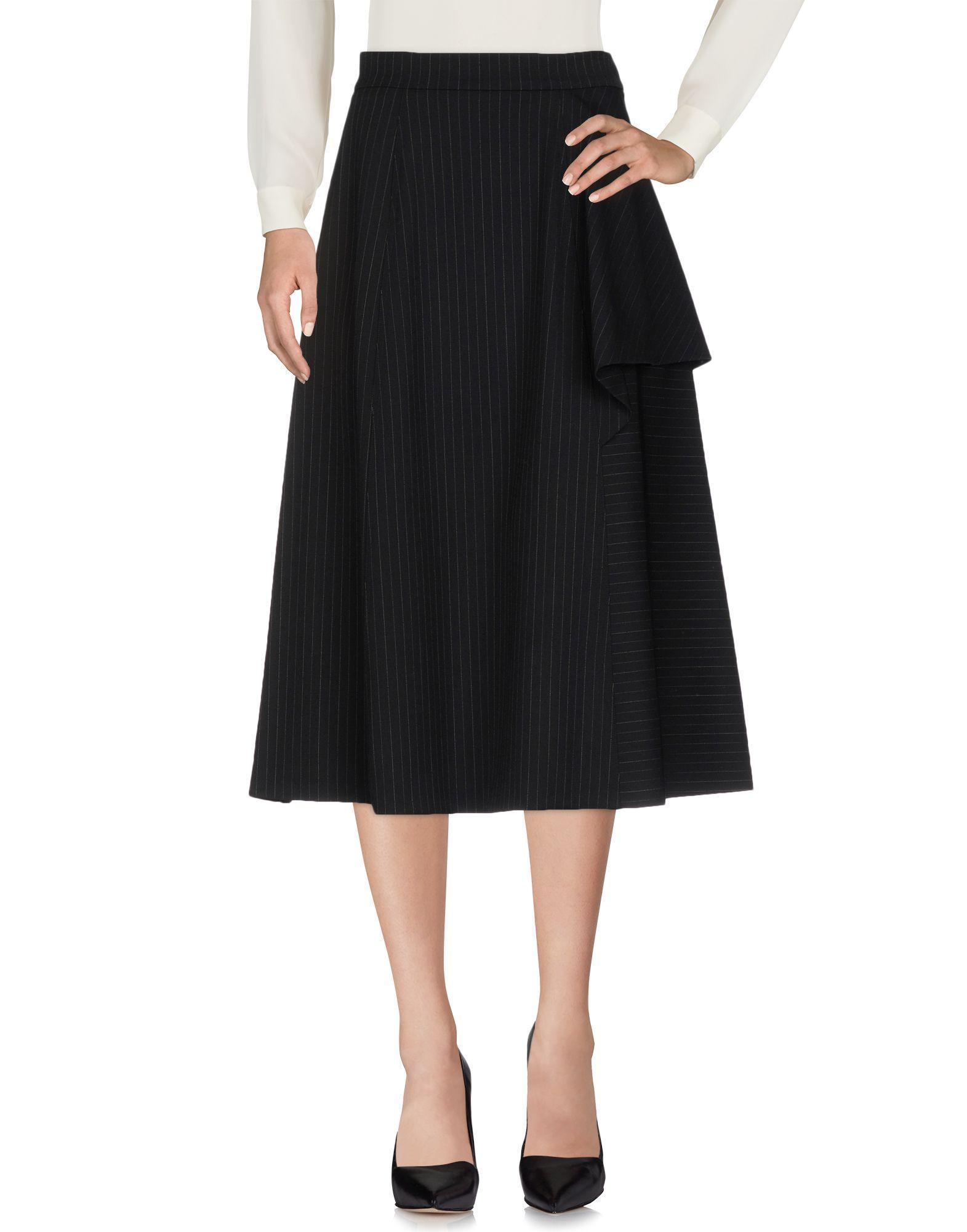 Antonio Marras Midi Skirts In Black