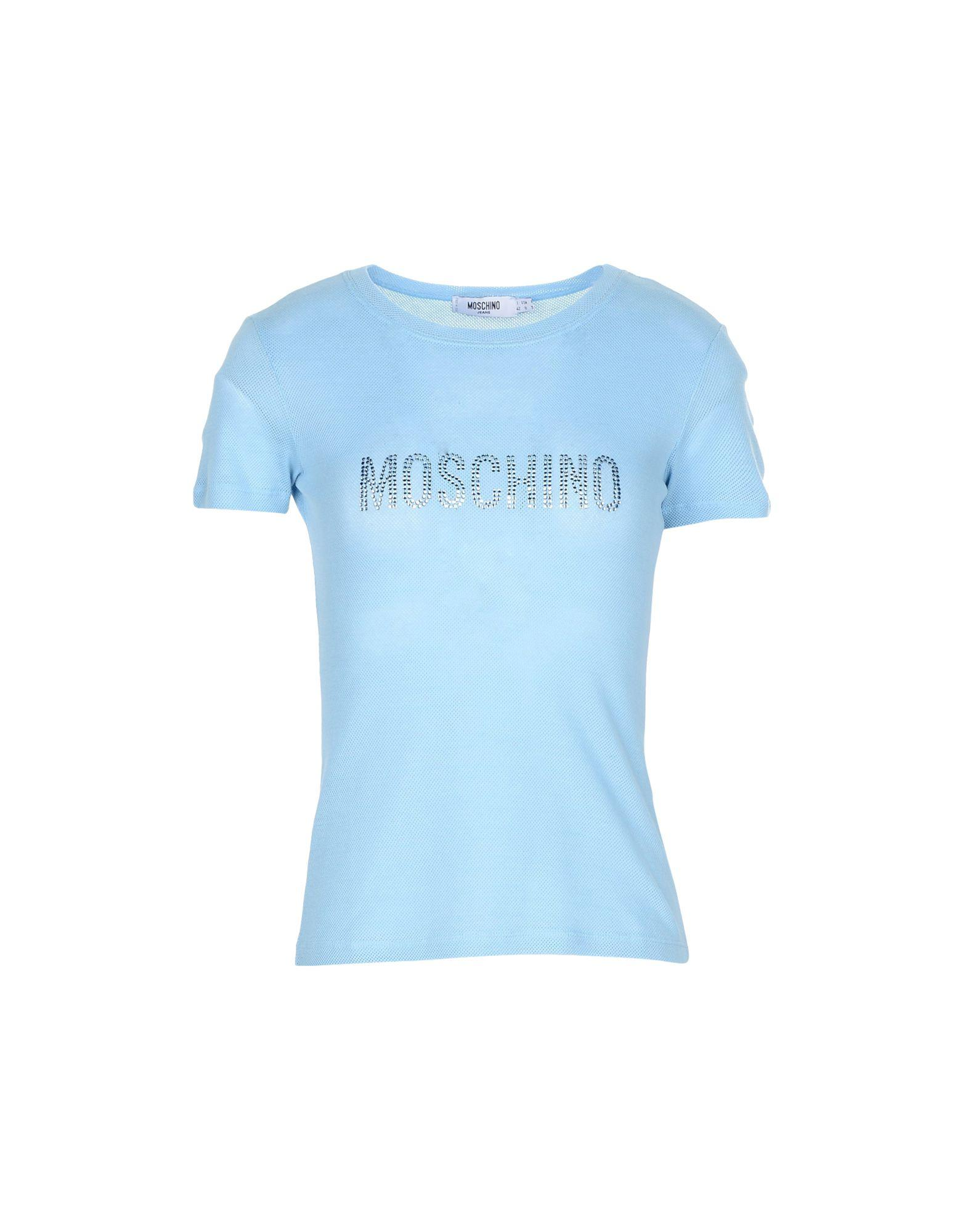Moschino T-shirts In Sky Blue