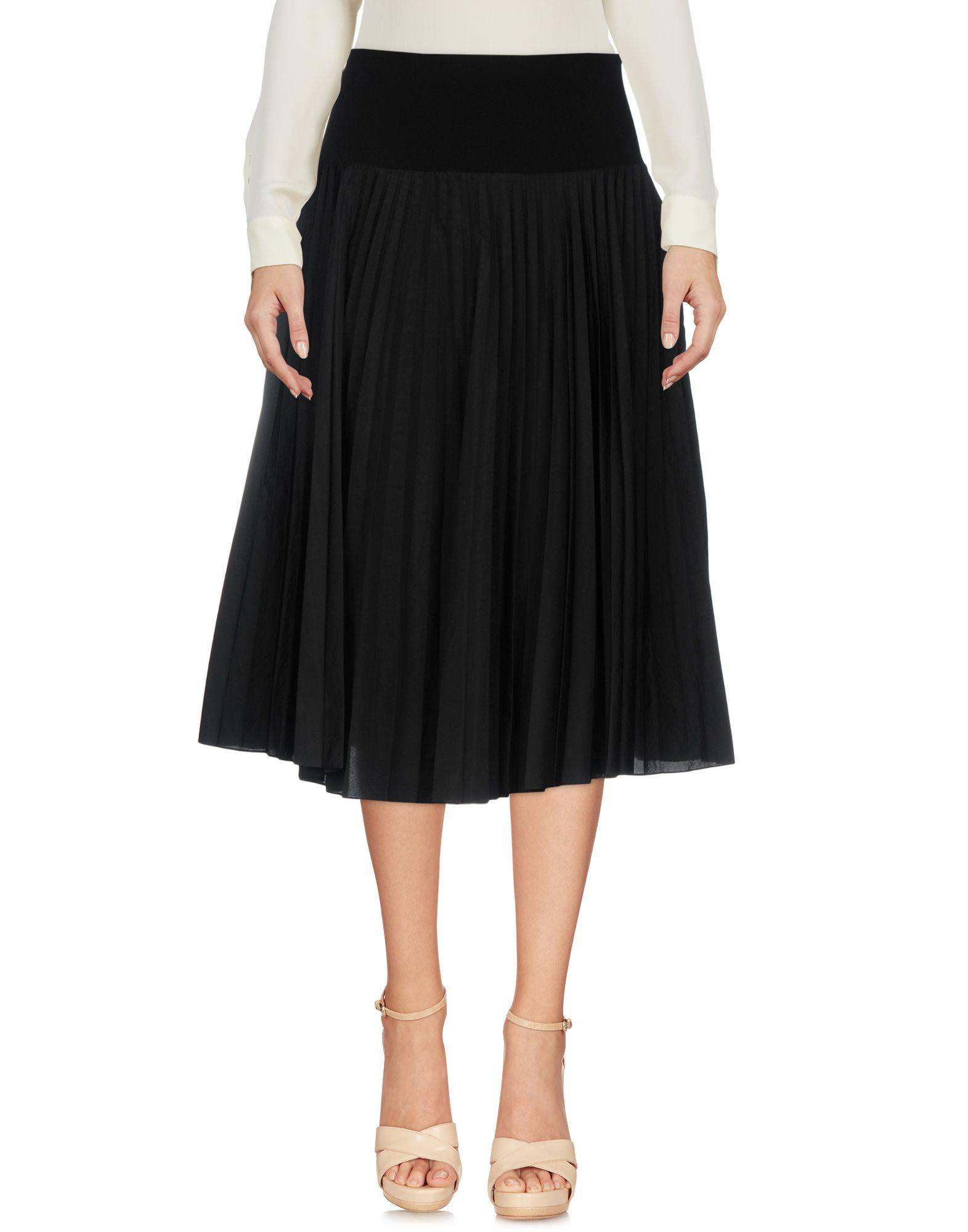 Ps By Paul Smith Knee Length Skirt In Black