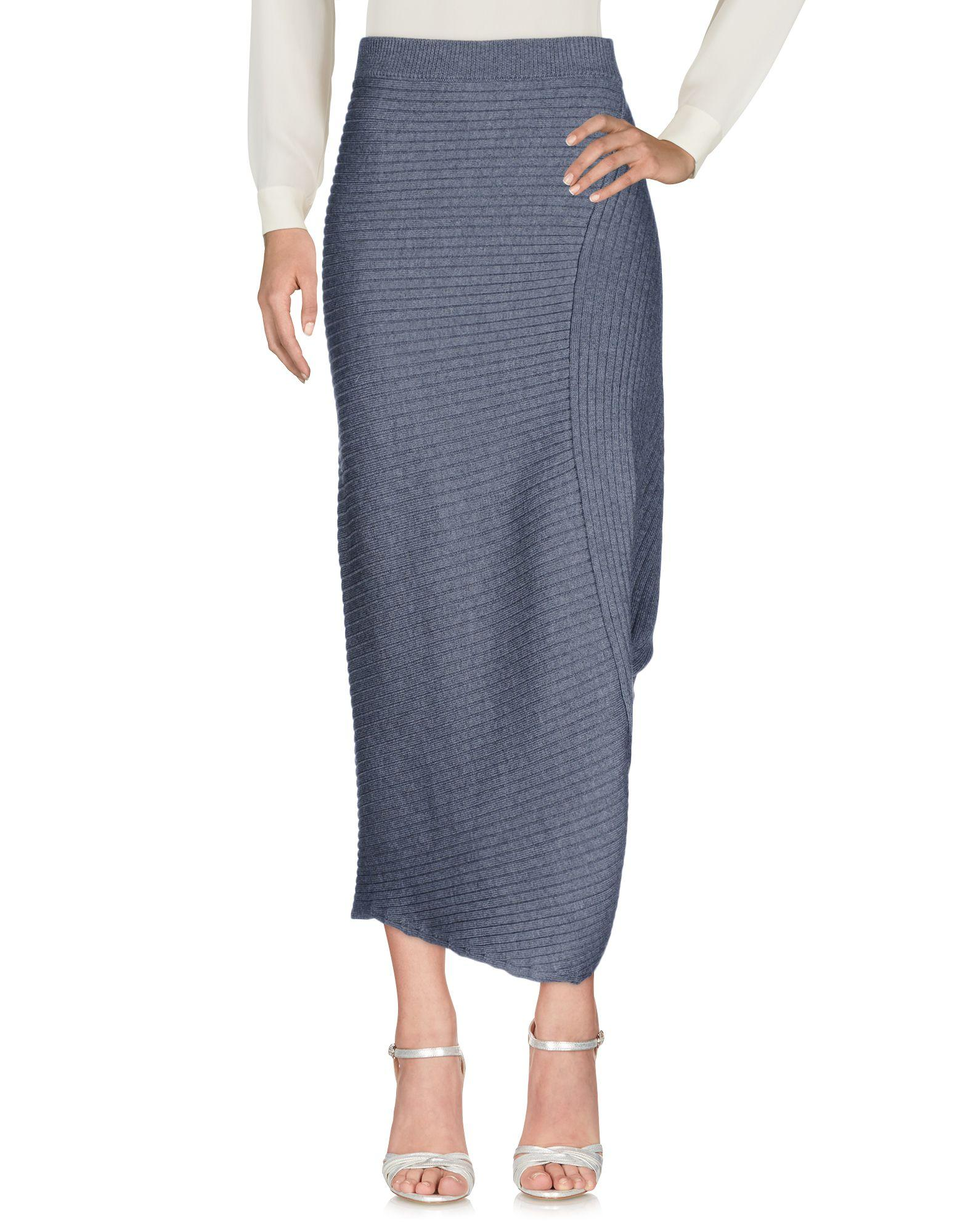 Jw Anderson Maxi Skirts In Grey