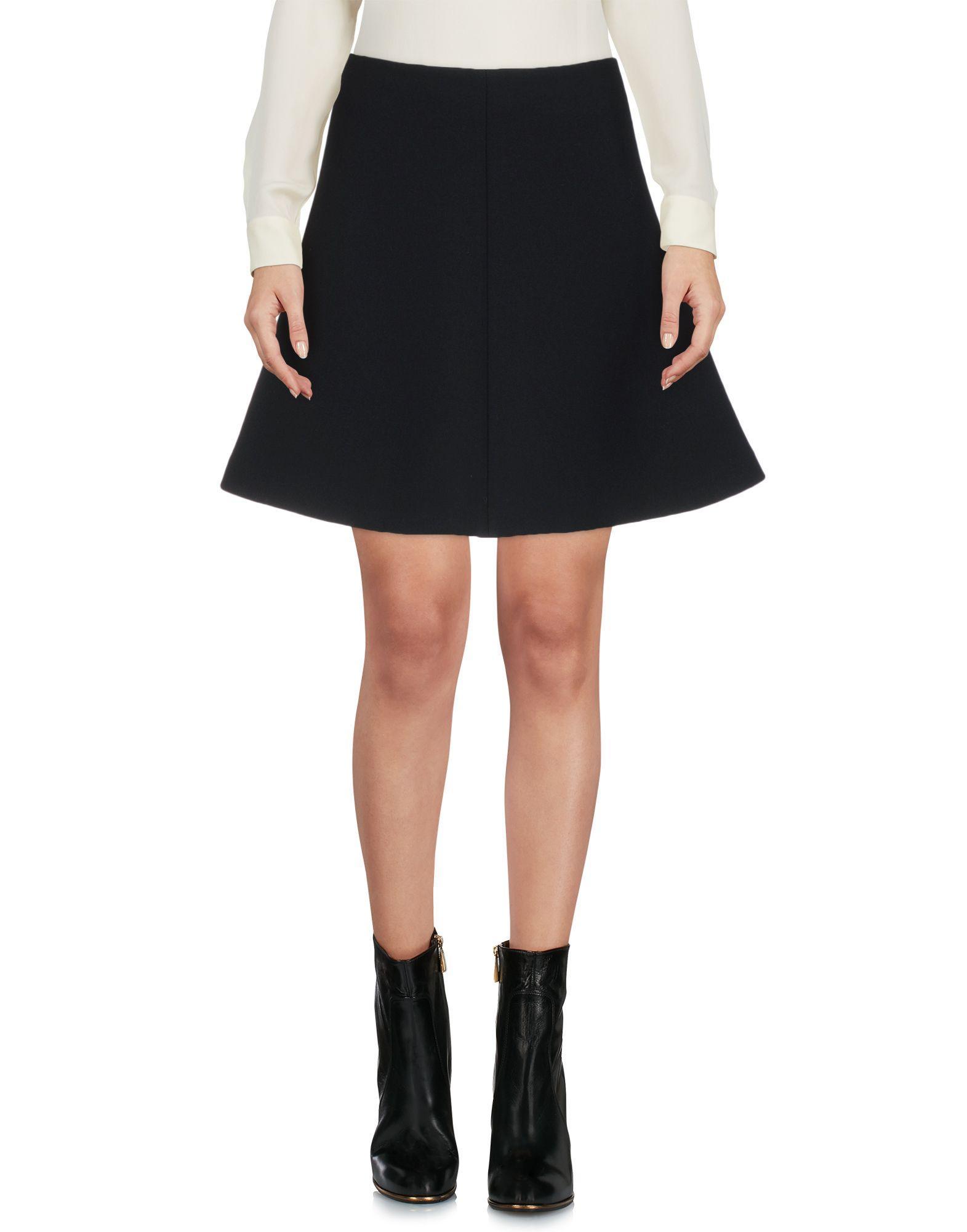 Red Valentino Mini Skirts In Black