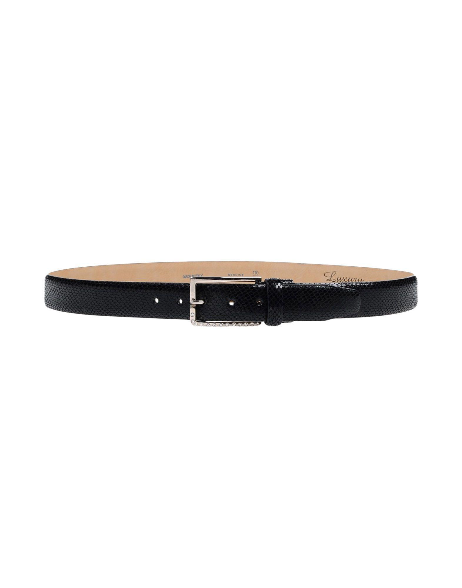 Luxury Belts In Black