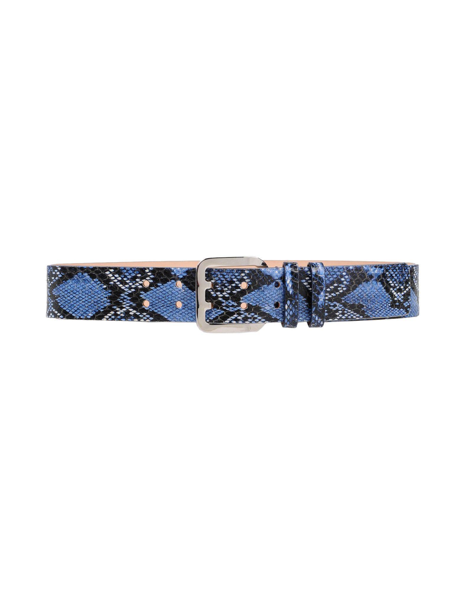 Dsquared2 Belts In Slate Blue