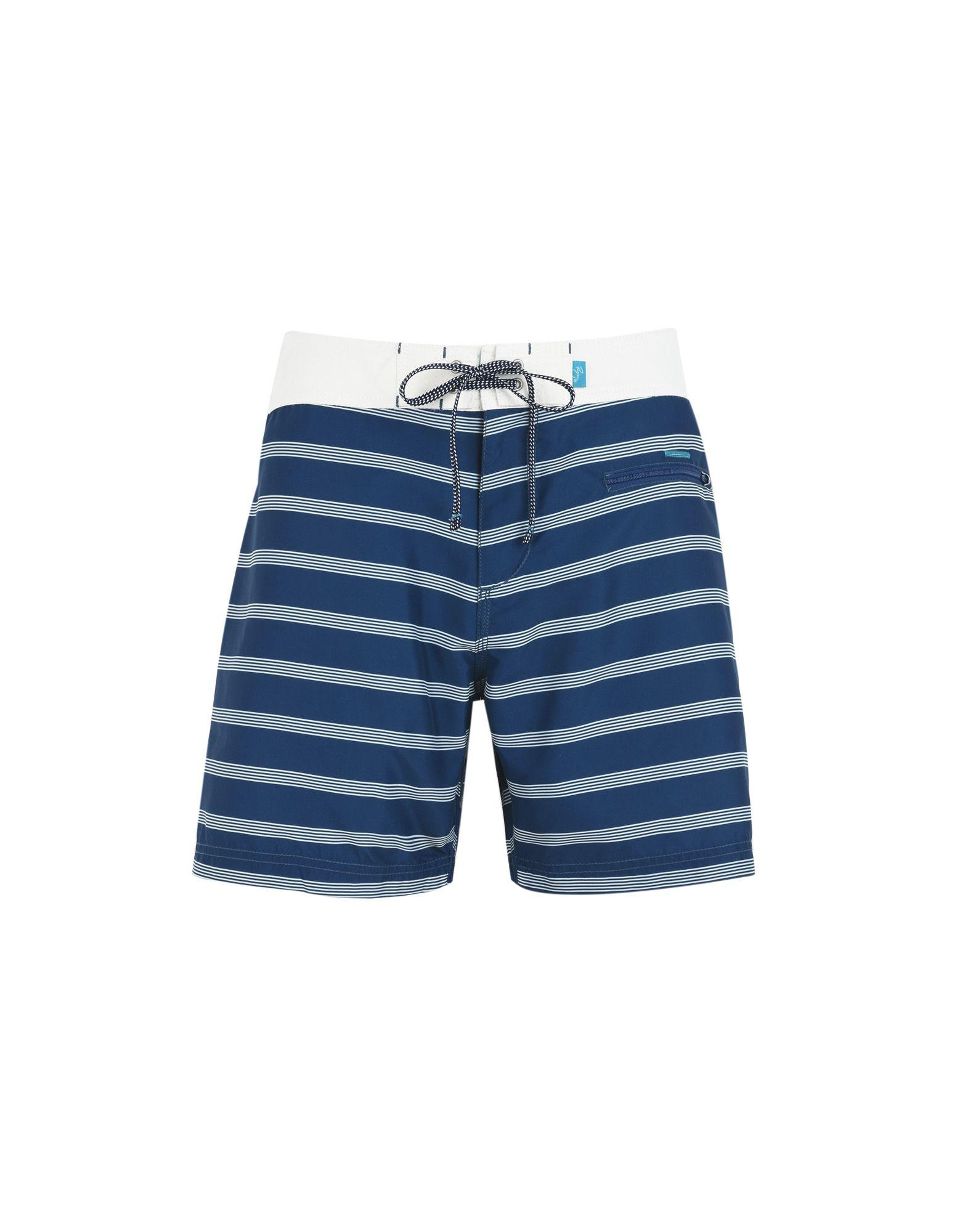 Riz Boardshorts Swim Shorts In Dark Blue