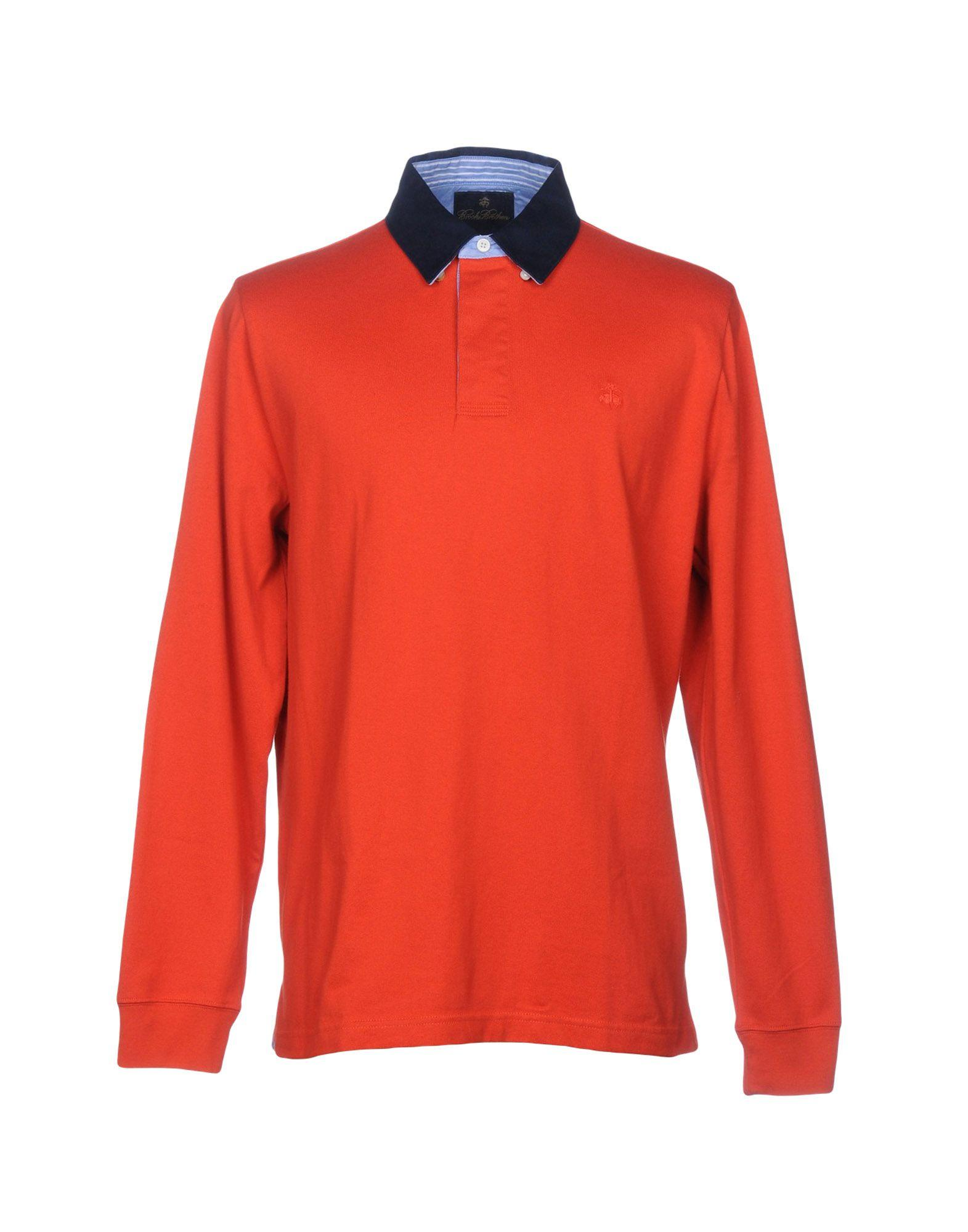Brooks Brothers Polo Shirts In Red