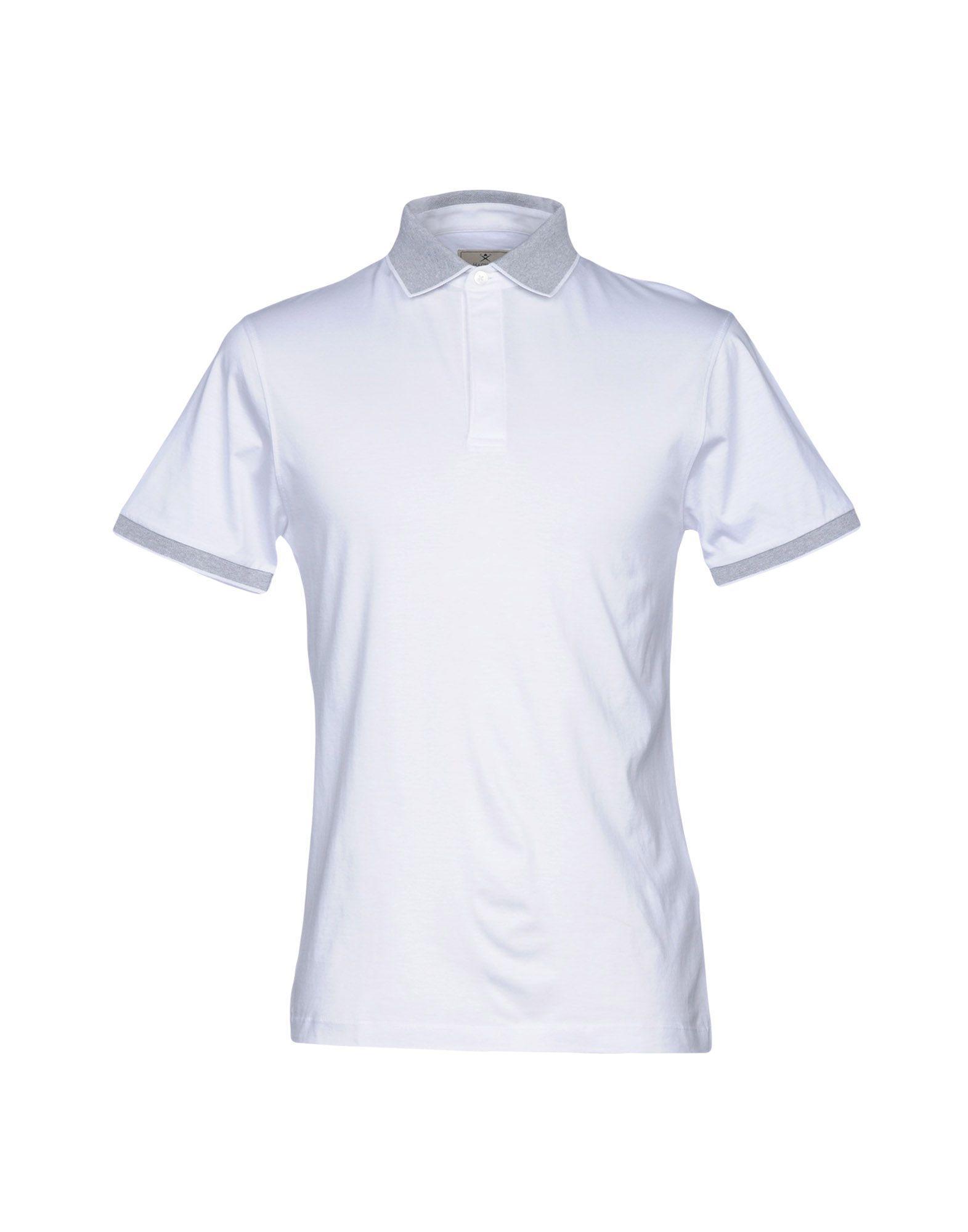 Hackett Polo Shirt In White
