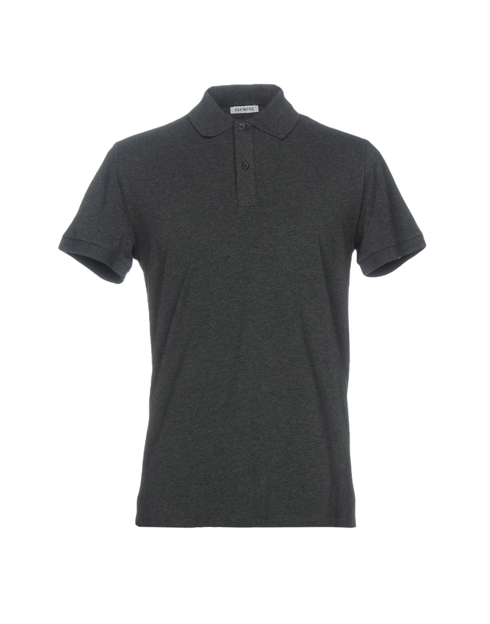 Bikkembergs Polo Shirt In Steel Grey