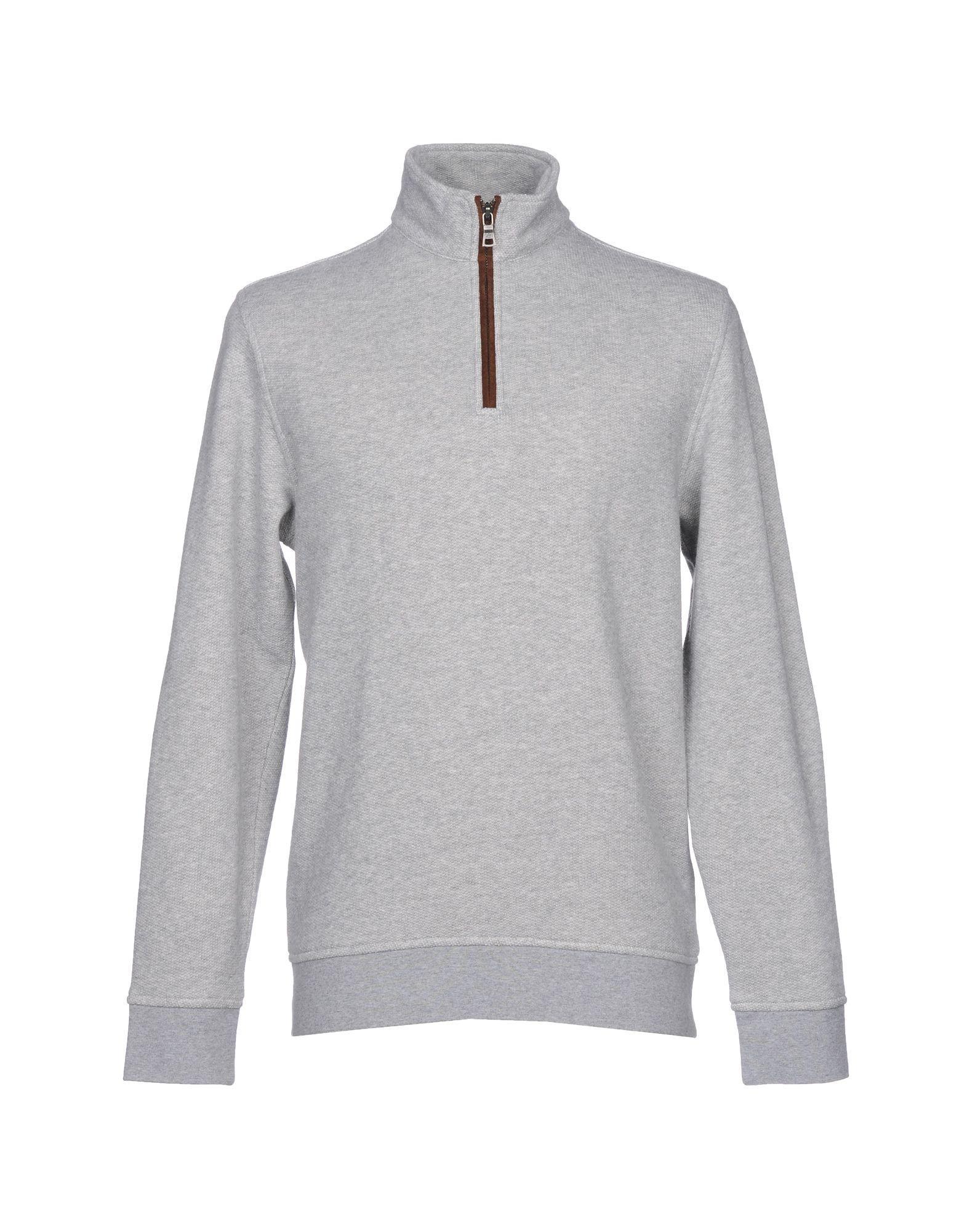 Brooks Brothers Sweatshirt In Light Grey